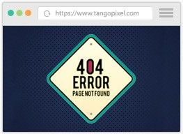 3dcart custom responsive 404 page