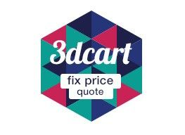 get fix price quote for your  3dcart project.